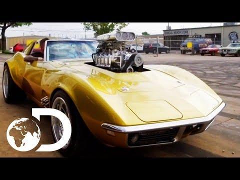 Taking A Ride In The Hot Wheels Corvette | Fast N' Loud