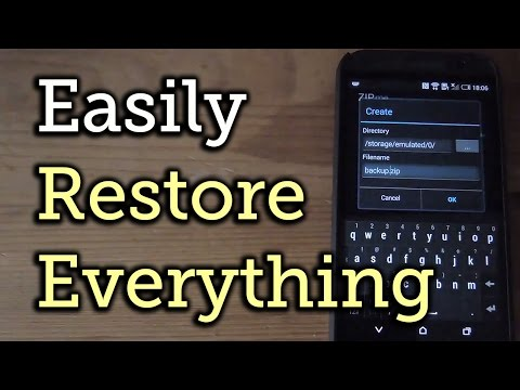 Back Up & Restore All Your Apps, Data, & Settings With ZIPme - Android [How-To]