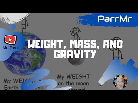 Weight, Mass, and Gravity