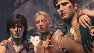 Uncharted Collection: Among Thieves - Tenzin, Sully, Chloe, Nathan Drake & Elena Ending Cutscene