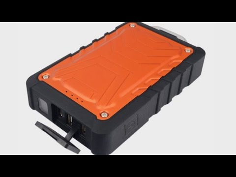 ToughTested Rugged, Weatherproof 8000 mAh Dual USB Battery Pack