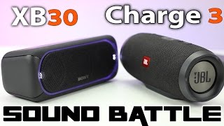 Sony XB40, 30, 20 vs JBL Xtreme and Charge 3 (Sony Party
