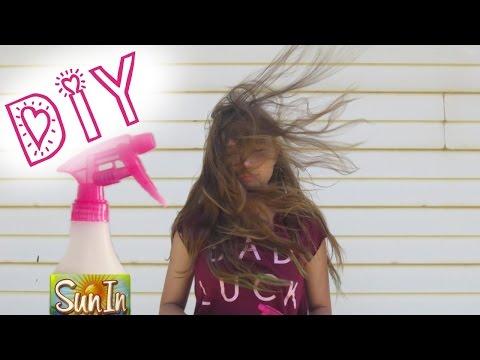 DIY SUN IN ☼ How to lighten your hair naturally!