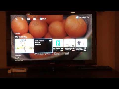 Amazon Fire tv with PlayStation Vue