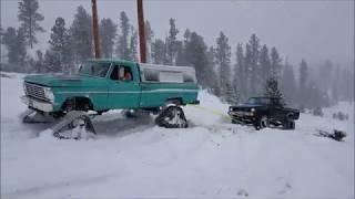 Tracks vs. Tires in Snow