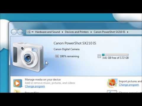 Importing photos using Windows Live Photo Gallery