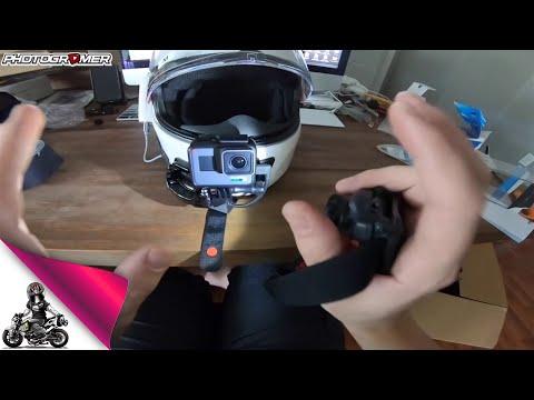 How To  Motovlogger Setup GoPro with Sena