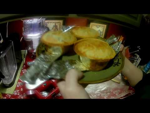 Beef Pot Pies- Kitchen Gadgets/ Wolfgang Puck Pie Maker