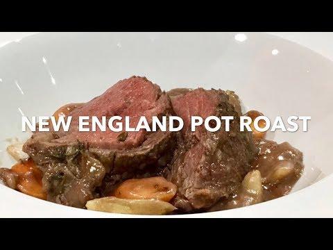 NEW ENGLAND POT ROAST **YANKEE DINNER**
