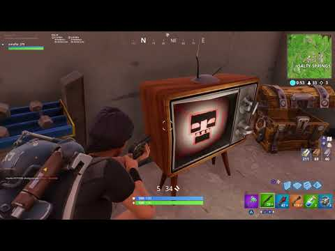 WHAT THE HECK IS THIS?!?!? (FORTNITE EASTER EGG?)