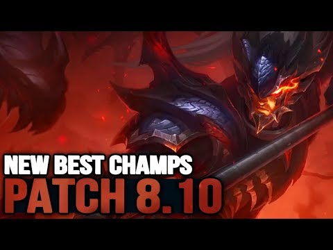New Best Champions in Patch 8.10 SEASON 8 for Climbing in EVERY ROLE (League of Legends)