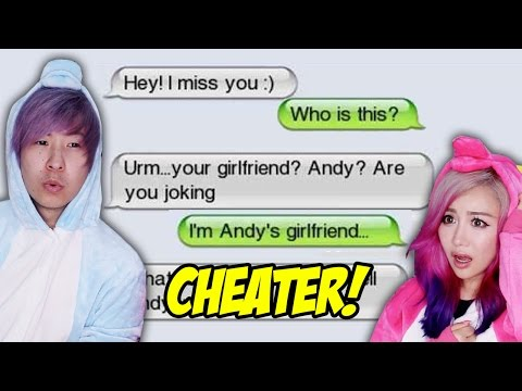 Reacting To The WORST Break Up Texts!!
