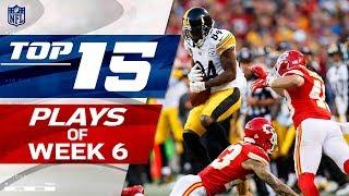 Top 15 Plays of Week 6   NFL Highlights