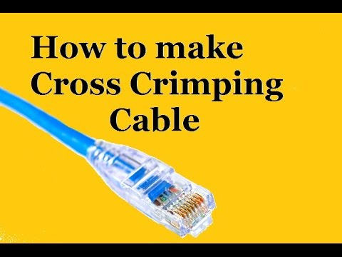 cross cable crimping