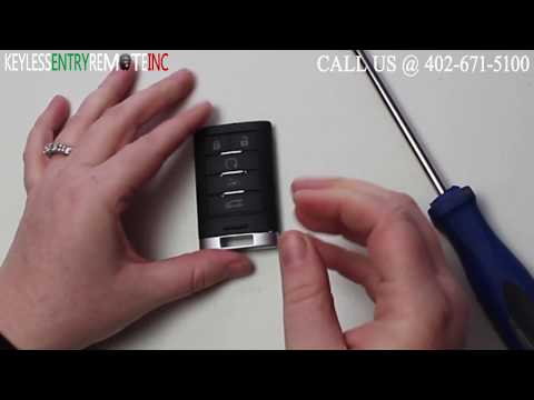 How To Replace Cadillac XTS Key Fob Battery 2013 2014