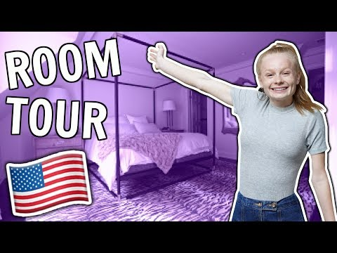 MY NEW AMERICAN ROOM TOUR!! 🇺🇸 *omg*