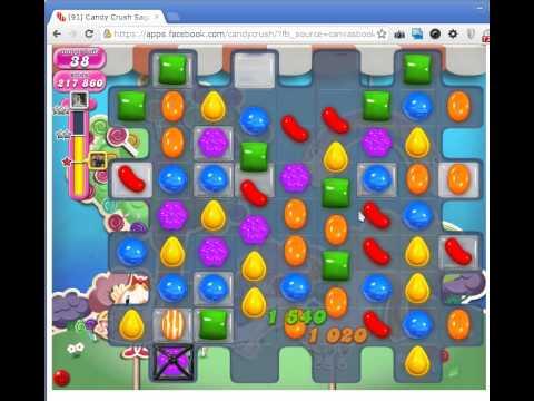 Candy Crush Saga Level 65 booster TIPS!