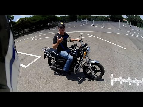 BMW S1000XR - K53 Licence Test Biker Bravado SA
