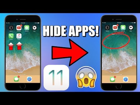 How To Hide Apps In iOS 11! | iOS 11 Bug |