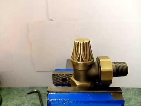 Radiator Valve Maintenance - Abbey lock shield cartridge change over