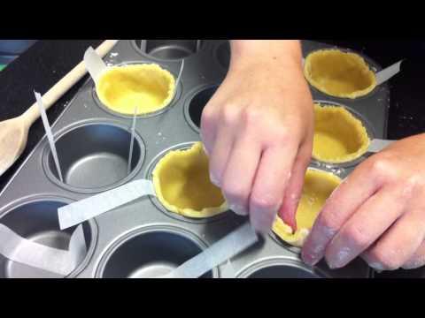 Lovefood.com's food writer Charlotte Morgan makes GBBO egg custard tarts Pt 1