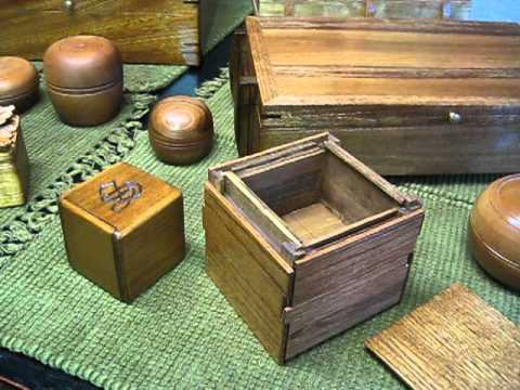 Puzzle Box Build Complete. Also handmade humidor & other wood projects.