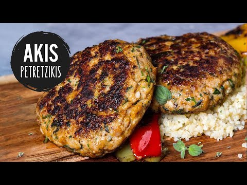Chicken Burger Patties | Akis Kitchen