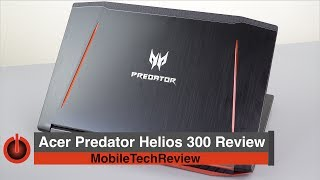 Acer Predator Helios 300 Review - Affordable Yet Powerful Gaming Laptop