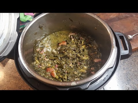 Absolutely Amazing and Easy To Make Instant Pot Collard Greens!