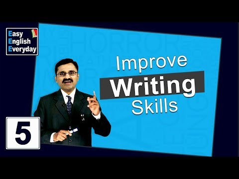 English lessons for beginners | How to Improve Writing Skills | Tips to Improve Communication Skills