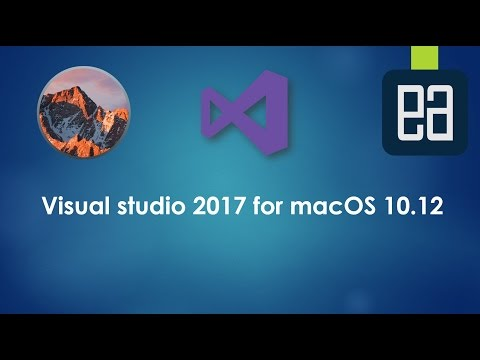 Installing and working Visual Studio 2017 for MacOS