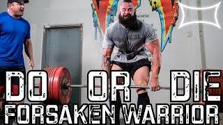 Steve Johnson (Forsaken Warrior) - 1025 kg/2259 7 lbs Total - Boss