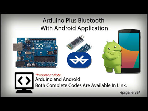 Arduino & Bluetooth + Android | How to Connect Android with Arduino | Code & Connection
