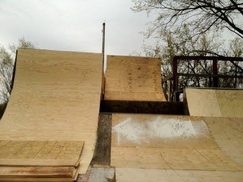 Backyard Ramp Step-Up Build + Clips