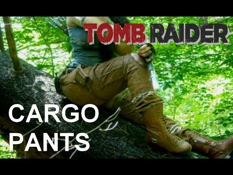 How i made my tomb raider 2013 cargo pants (how to tutorial)