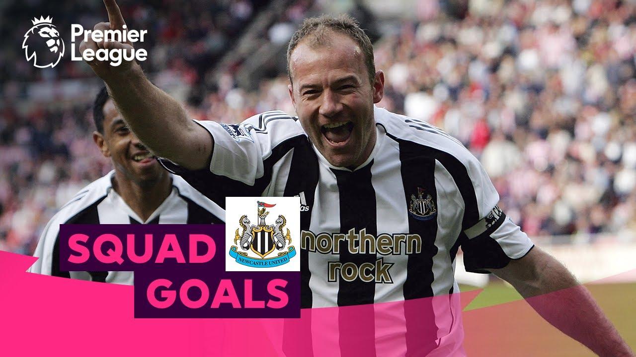 Stunning Newcastle United Goals | Shearer, Cisse, Shelvey | Squad Goals