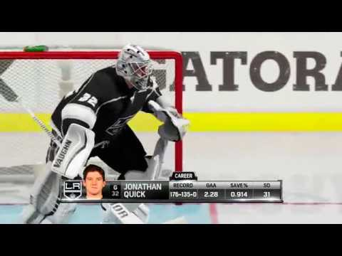 NHL 15 Demo! Gameplay, Versus, Fights, Hits, Goals, Dekes