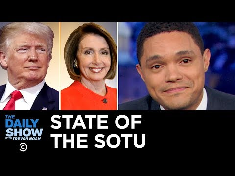 The State of the State of the Union: Not Good, Folks | The Daily Show