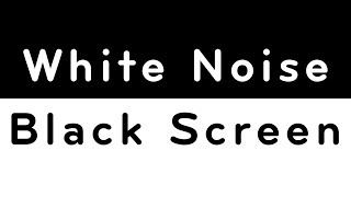 Download White Noise Black Screen | Sleep, Study, Focus, Soothe a Baby | 10 Hours Video