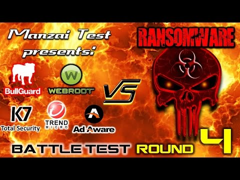 [Battle Test] Round 4 - 5 Antivirus VS Ransomware (Final Round)