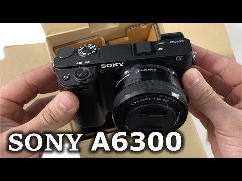 The Sony A6300 vs iPhone X Camera - Unboxing & Review