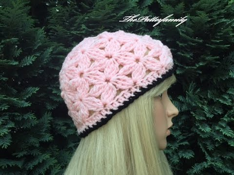 How to Crochet a Beanie Hat Pattern #289│by ThePatternFamily