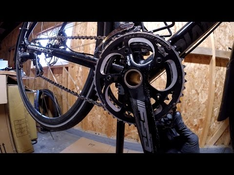 How To Remove FSA Gossamer BB386EVO Crank Bike Blogger
