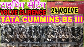 How To Engine Timming Set Of Tata Commins 6BT Engine, By Mechanic