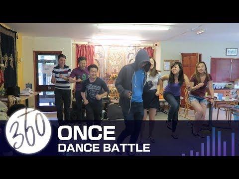 K-pop Dance Battle- Green group AKA Once