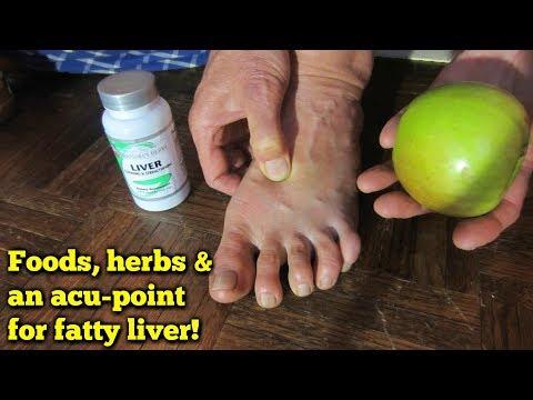 Fatty Liver Remedy Plus Acupressure Point!