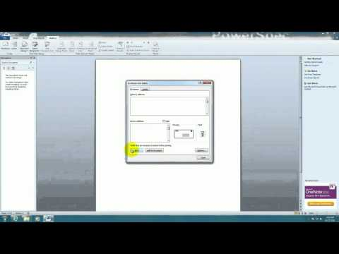 Tech Support: How to make address labels for envelopes in Microsoft Word 2010