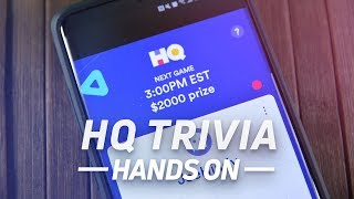 HQ Trivia (for Android) hands-on: buggy but fun!