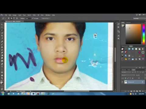 scan photo to passport photo