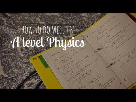 How I got an A* in A level Physics | alicedoesphysics